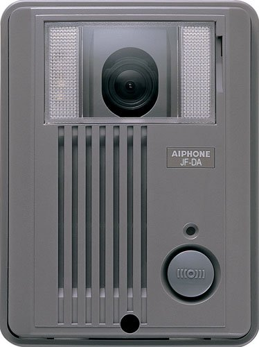 Aiphone Jf-Da Surface-Mount Audio/Video Door Station For Jf Series Intercom System, Abs Plastic Housing front-775640