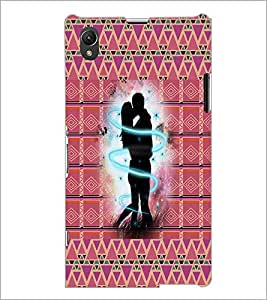 PrintDhaba Couple D-4563 Back Case Cover for SONY XPERIA Z1 (Multi-Coloured)