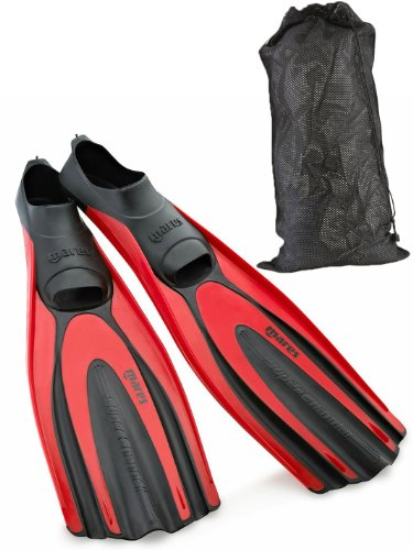 Mares Fins AVANTI SUPERCHANNEL FF -with Bag - Red - 5-6