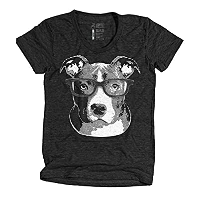 Legit Tees Smarty Pants Pit-Bull Dog T-Shirt