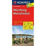 Würzburg - Maindreieck: Fahrradkarte. GPS-genau. 1:70000 (KOMPASS-Fahrradkarten Deutschland)