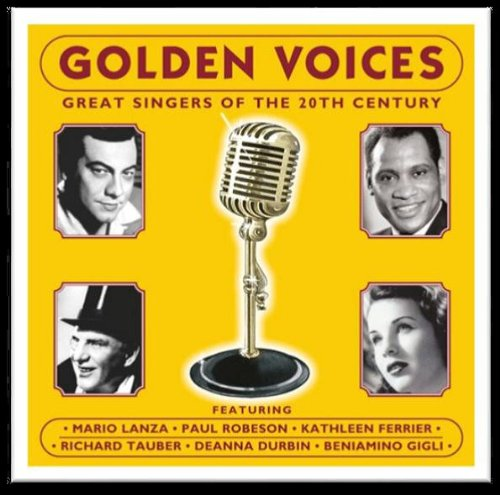 Original album cover of GOLDEN VOICES - Various by Golden Voices