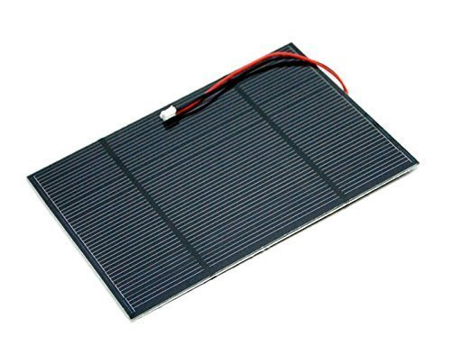 2.5W Solar Panel 116 * 160, This Panel is Made of Single-Crystal Material That Performs High Solar Energy Transformation Efficiency at 15%, Has a Fine Resin Surface.