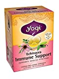 Yogi Teas Echinacea Immune Support, 16 Count (Pack of 6)