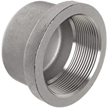 Stainless Steel 304 Cast Pipe Fitting, Cap, MSS SP-114, NPT Female
