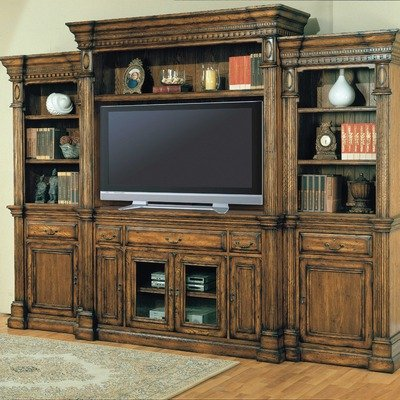 Cheap Canterbury 69″ TV Stand with Hutch in Vintage Caramel (CAN600A Set)