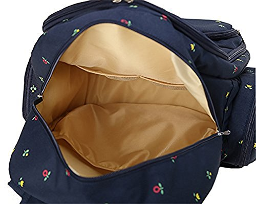 baby 16 pockets waterproof oxford fabric travel backpack diaper bag with chan. Black Bedroom Furniture Sets. Home Design Ideas