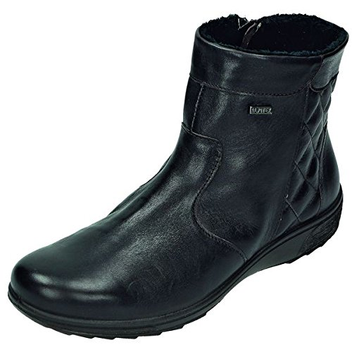 Pelle anilina Boot DocComfort stivali da Donna /, RV, interno felpato, Alpi Tex, ca, 12 cm, Marrone (t.d.moro Weite H), 40 EU