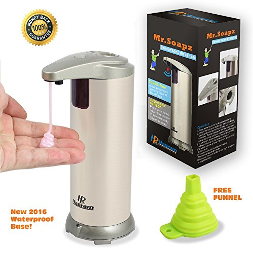 Top 5 Best Sensor Foaming Soap Dispenser For Sale 2016