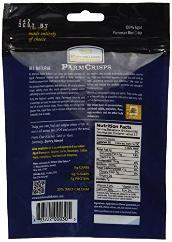Kitchen Table Parm Crisps Nutrition