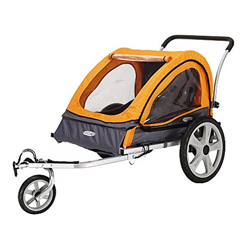 Best Price! InSTEP Quick N EZ Double Bicycle Trailer
