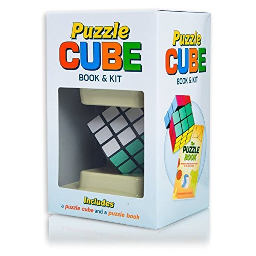 Puzzle Cube: Book & Kit [includes puzzle cube and puzzle book]