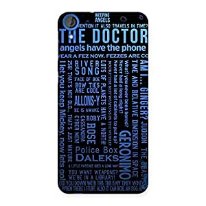 Blue Doc Angel Back Case Cover for HTC Desire 820