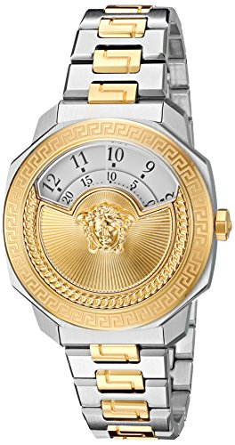 Versace-Womens-Dylos-Icon-Swiss-Quartz-Stainless-Steel-Casual-Watch-ColorTwo-Tone-Model-VQU040015