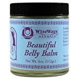 Wise Ways Herbals: Beautiful Belly Balm, 4 Oz (2 Pack)