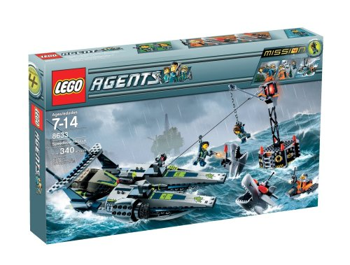 LEGO Agents Speedboat Rescue Amazon.com