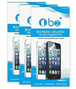 TBZ Screen Protector Scratch Guard for Asus Zenfone 2 Selfie -Pack of Three