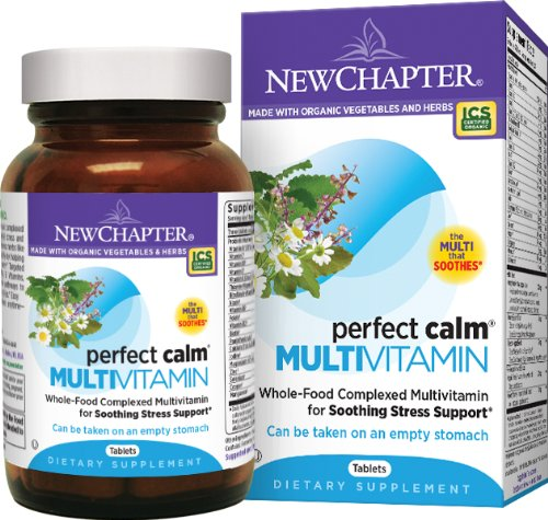 New Chapter Perfect Calm Multivitamin, 72 Tablets