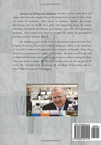 Frontiers in Biology and Medicine