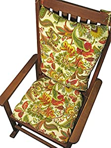 Porch Rocker Cushion Set Valbella Multi