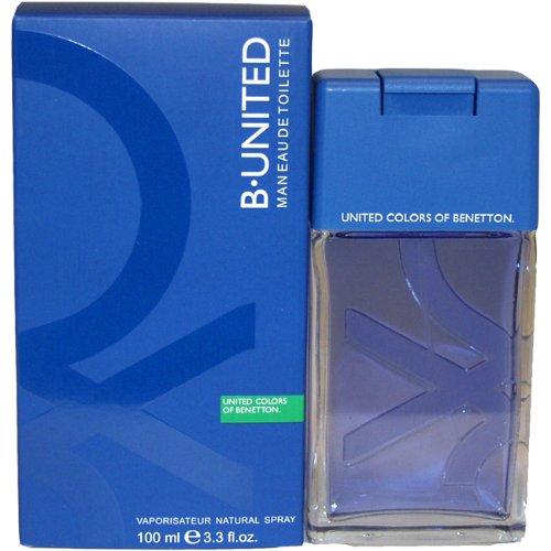 B United By Benetton For Men. Eau De Toilette