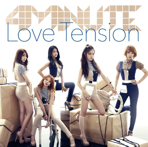 4Minute - Love Tension [Japan CD] UMCF-5099