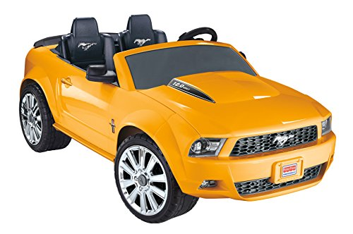 Fisher-Price Power Wheels Ford Mustang Ride-On, Yellow [Amazon Exclusive]