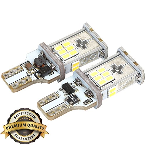 Hilinker 950 Lumens Extremely Bright 921 912 906 904 902 PX Chipsets W16W T15 T10 Wedge LED Bulbs 6000K Xenon White For Backup Reverse Lights (Set of 2) (Br40 Bulb Halogen compare prices)
