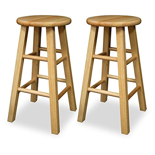 Winsome 24 Inch Square Leg Counter Stool Chairs Things