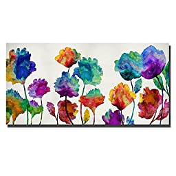 Playful Blossom by Vanessa Austin Custom Gallery-Wrapped Canvas Giclee Art (Ready to Hang)