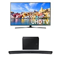 Samsung UN40KU7000 40-Inch TV with HW-J6500R Curved Soundbar