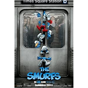 The Smurfs Movie on DVD