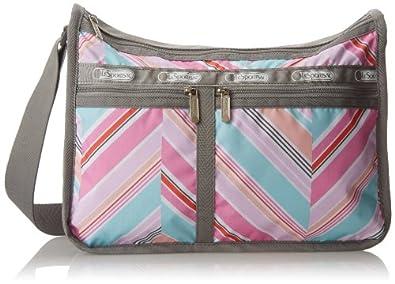 LeSportsac Deluxe Everyday Handbag,Zig Zag,One Size