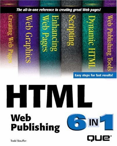Image for Html Web Publishing 6-In-1