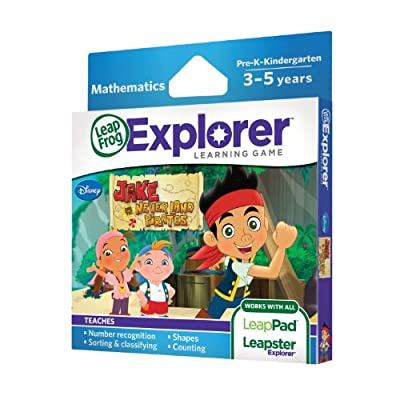 Leapfrog Explorer Learning Game Jake And The Never Land Pirates by LeapFrog