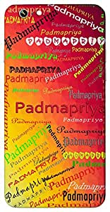 Padmapriya (Lover of Lotus) Name & Sign Printed All over customize & Personalized!! Protective back cover for your Smart Phone : Moto G-4