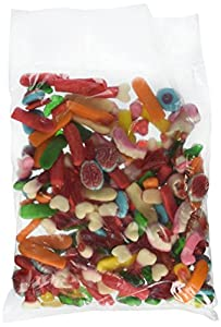 Gummy Missing Body Parts by Cuckoo Luckoo Confections, 2 lb Bag in a BlackTie Box