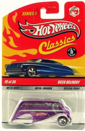 DECO DELIVERY (PURPLE) Hot Wheels Classics 1:64 Scale Die Cast Vehicle
