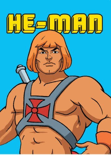 "HE-MAN: ""HE-MAN"" Greetings Card"