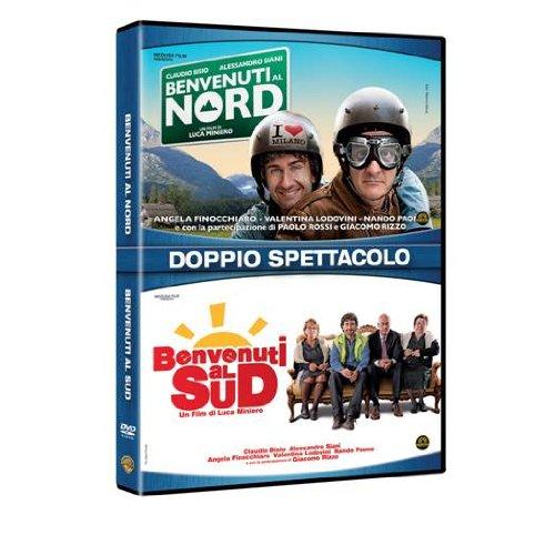 Benvenuti al Sud + Benvenuti al Nord [Italia] [DVD]