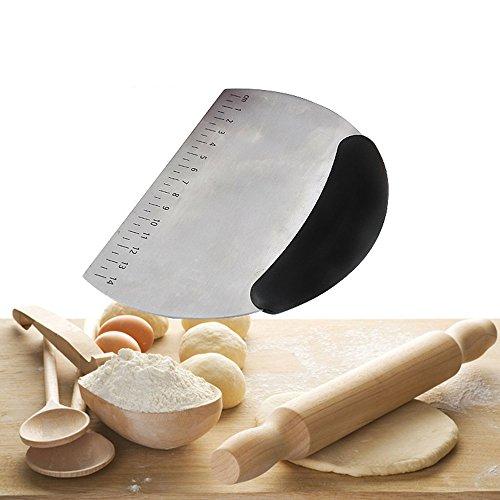LOYMR Stainless Steel Pastry Scraper / Cutter / Chopper ...