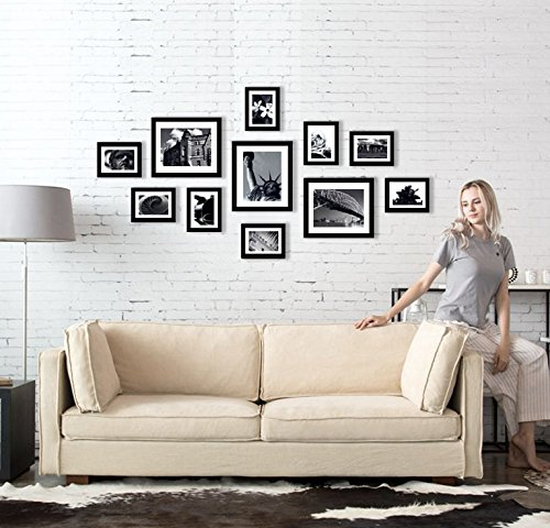 solid-wood-photo-frame-set-11-frames-with-picture-mounts-and-glass-front-frame-width-2cm-black