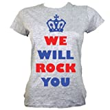 We Will Rock You Ladies T-shirt