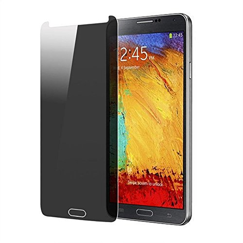 Tpt Privacy Anti-Spy Tempered Glass Screen Protector Film For Samsung (Samsung Galaxy Note 3 N9000)