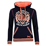 Everlast Womens Ladies Fluorescent Hoodie Hoody Long Sleeve Hooded Tops Clothing Navy (M) 12