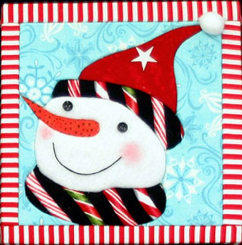 Artsi2 A2SNOWSCH Snowman Schroeder Wall Hanging Kit
