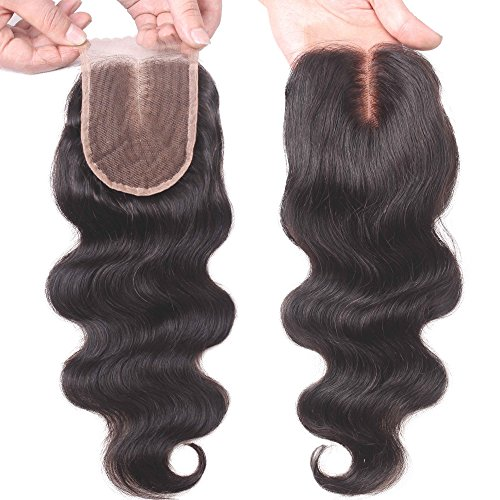 Aiva-Hair-Brazilian-Body-Wave-Top-Closure-Unprocessed-Human-Hair-Lace-Closure-Bleached-Knots-with-Baby-Hair-Middle-Part-Closure