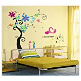 Oren Empower Charming Pvc Giant Tree Wall Sticker For Place Decoration