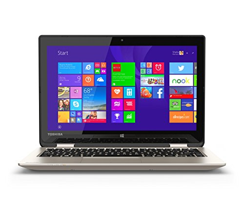 Toshiba Satellite Radius 11 L15W-B1120 Convertible 2 in 1 Touchscreen Laptop (Pentium, 4GB, 128GB SSD)