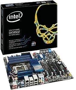 Intel LGA1366/Intel X58/DDR3/CrossFireX&SLI/SATA3&USB3.0/A&2GbE/ATX Motherboard, Retail BOXDX58SO2